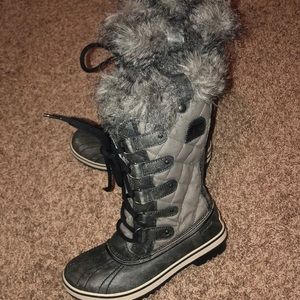 Sorel fur waterproof boots